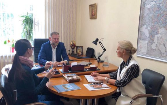 Рабочая встреча с Председателем Общественного Совета при Уполномоченном при президенте РФ по правам ребёнка